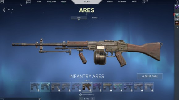 Infantry Ares