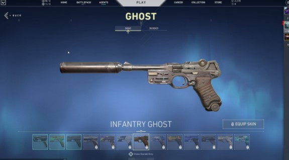 Infantry Ghost
