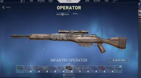 Infantry Operator