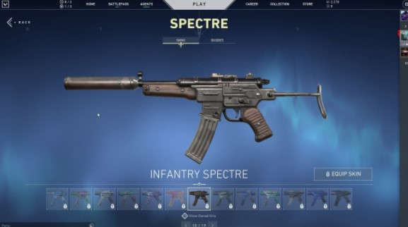 Infantry Spectre